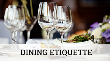 Dining etiquette professional courtesy llc for Dining room etiquette