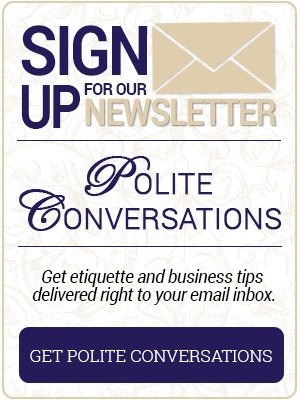 SIgn up For Polite Conversations | Professional Courtesy LLC