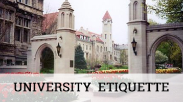 University Etiquette | Professional Courtesy, LLC